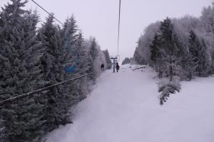 Новый год в Славском. Подъём на Тростян