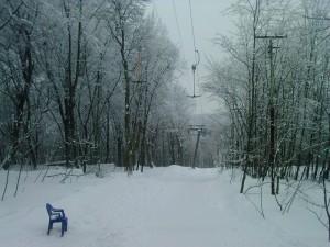 Лыжный склон в Голосеево, Киев